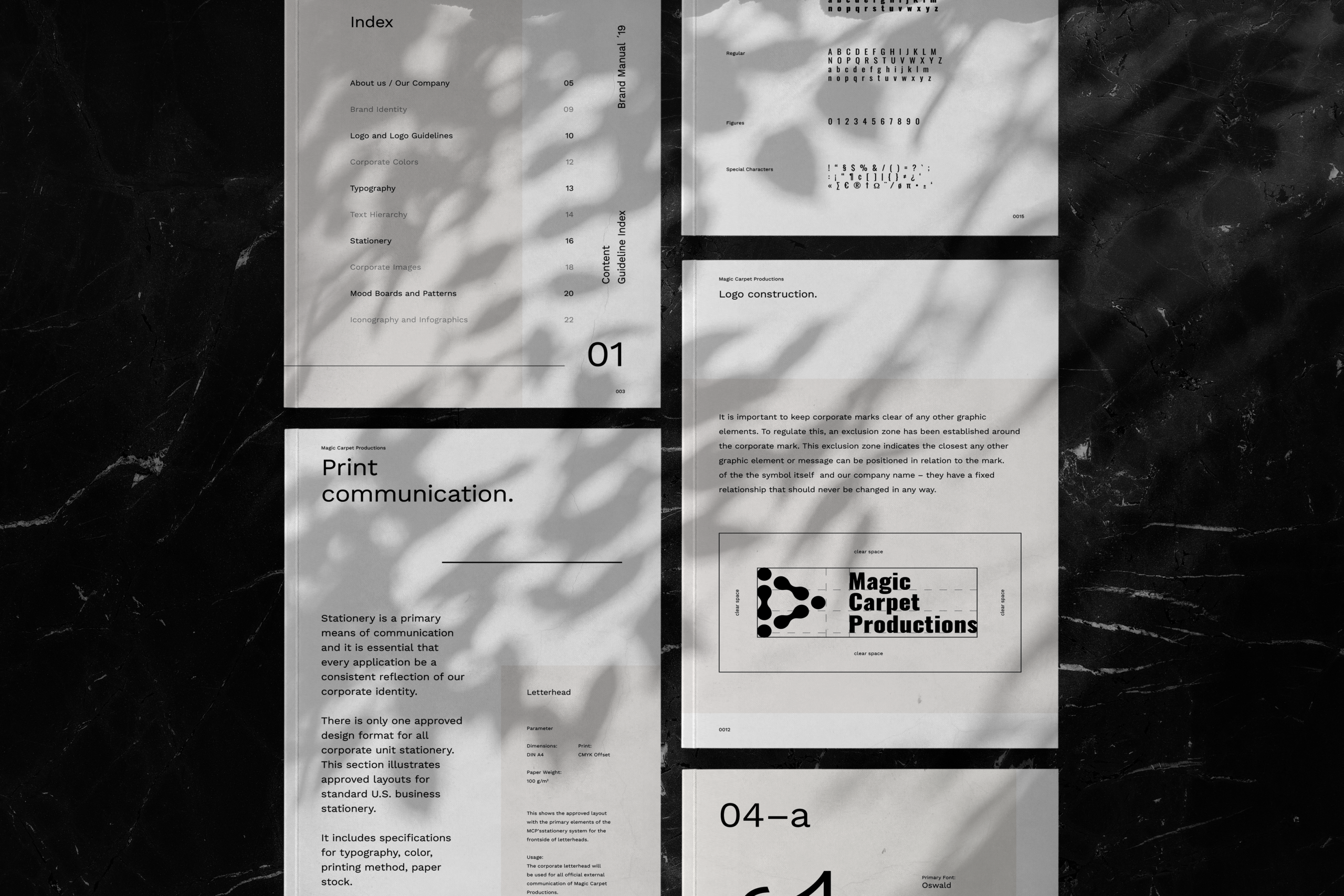 Magic Carpet Productions Brand Style Guide & Outlines from Ace Digital