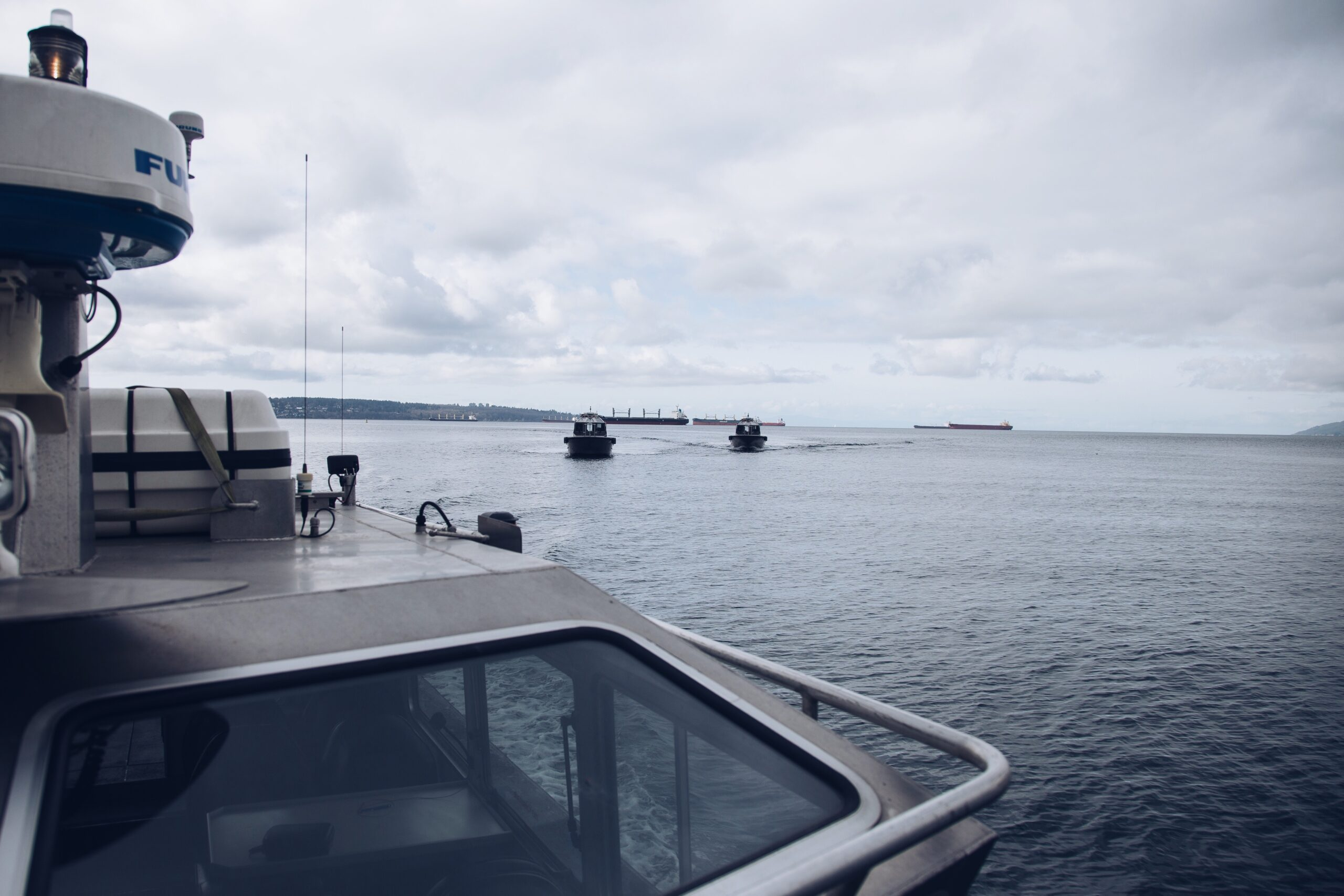 English Bay Photoshoot for Tymac Pilot Vessels