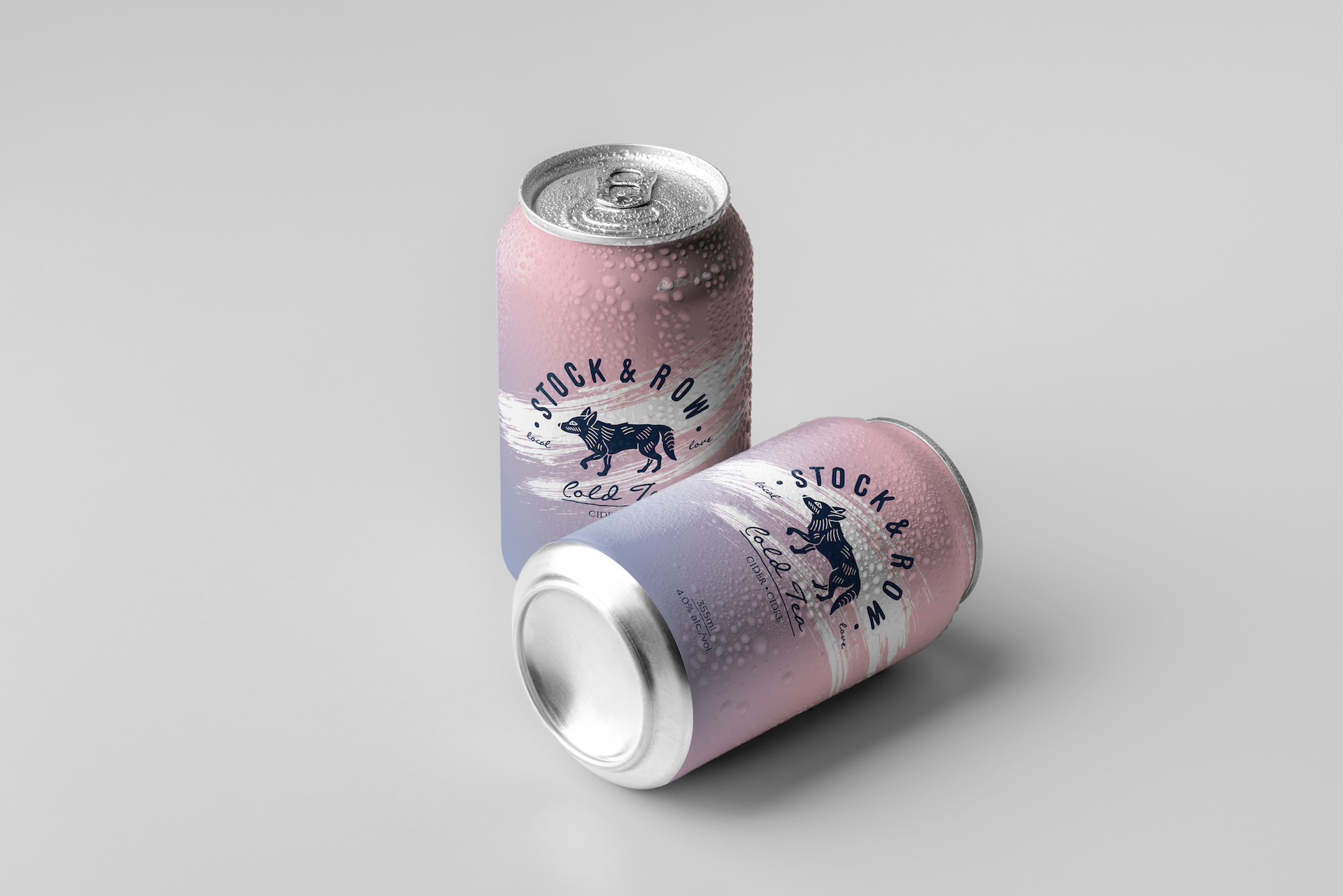 Ace Digital Designed Classic Cider Can for Stock & Row