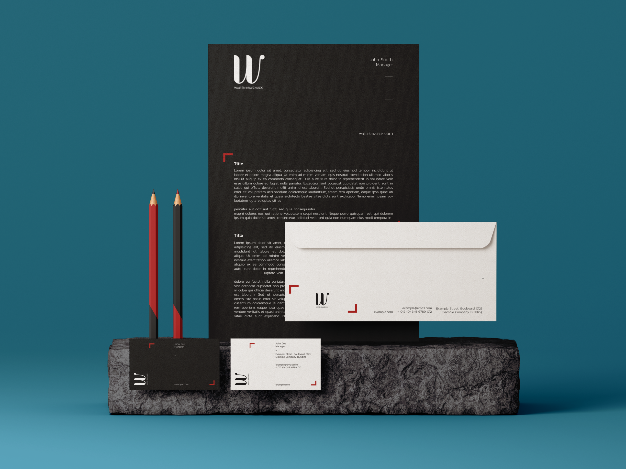 Brand Creation for Walter Kravchuk by Ace Digital