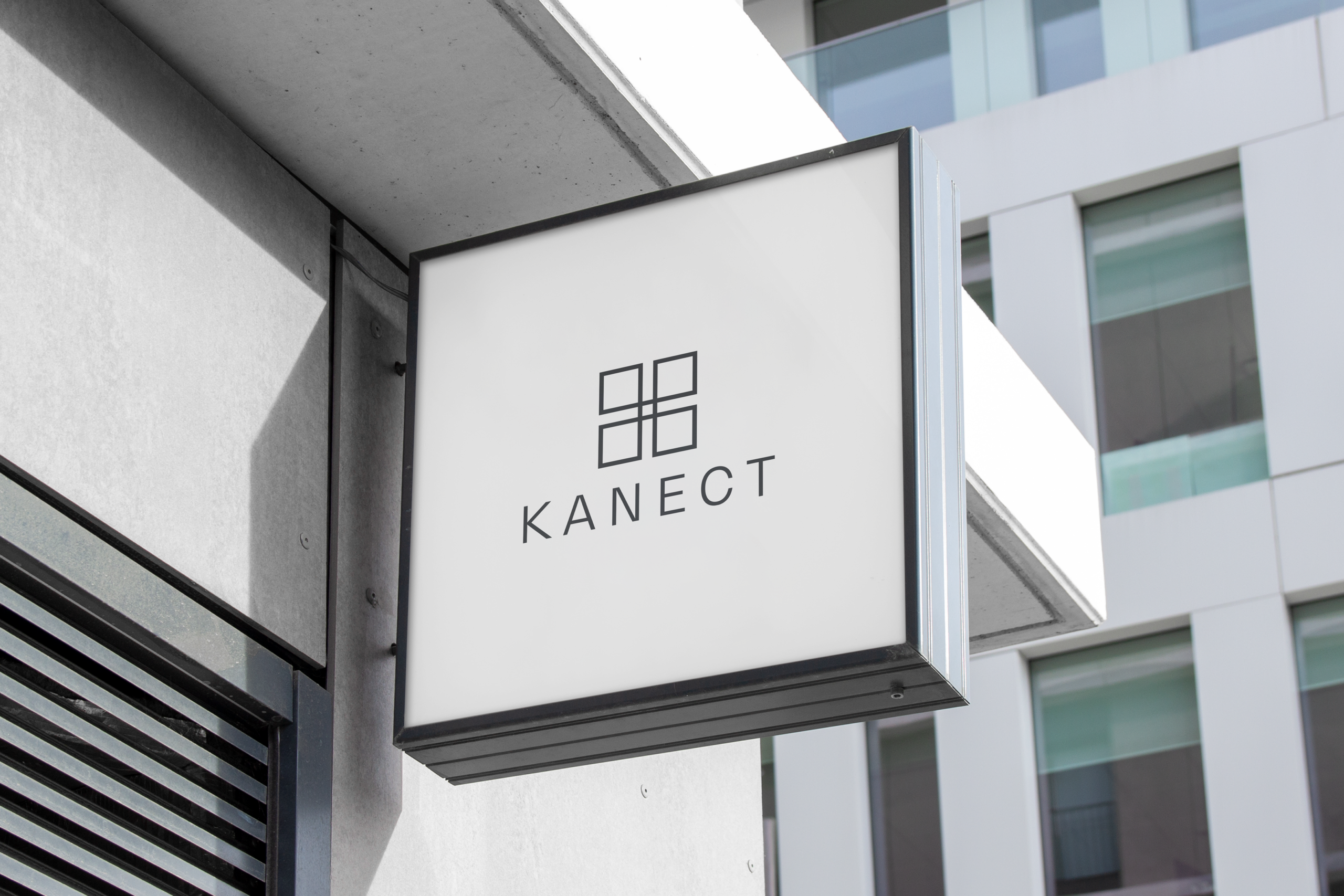 Sample of Exterior Signage for Kanect