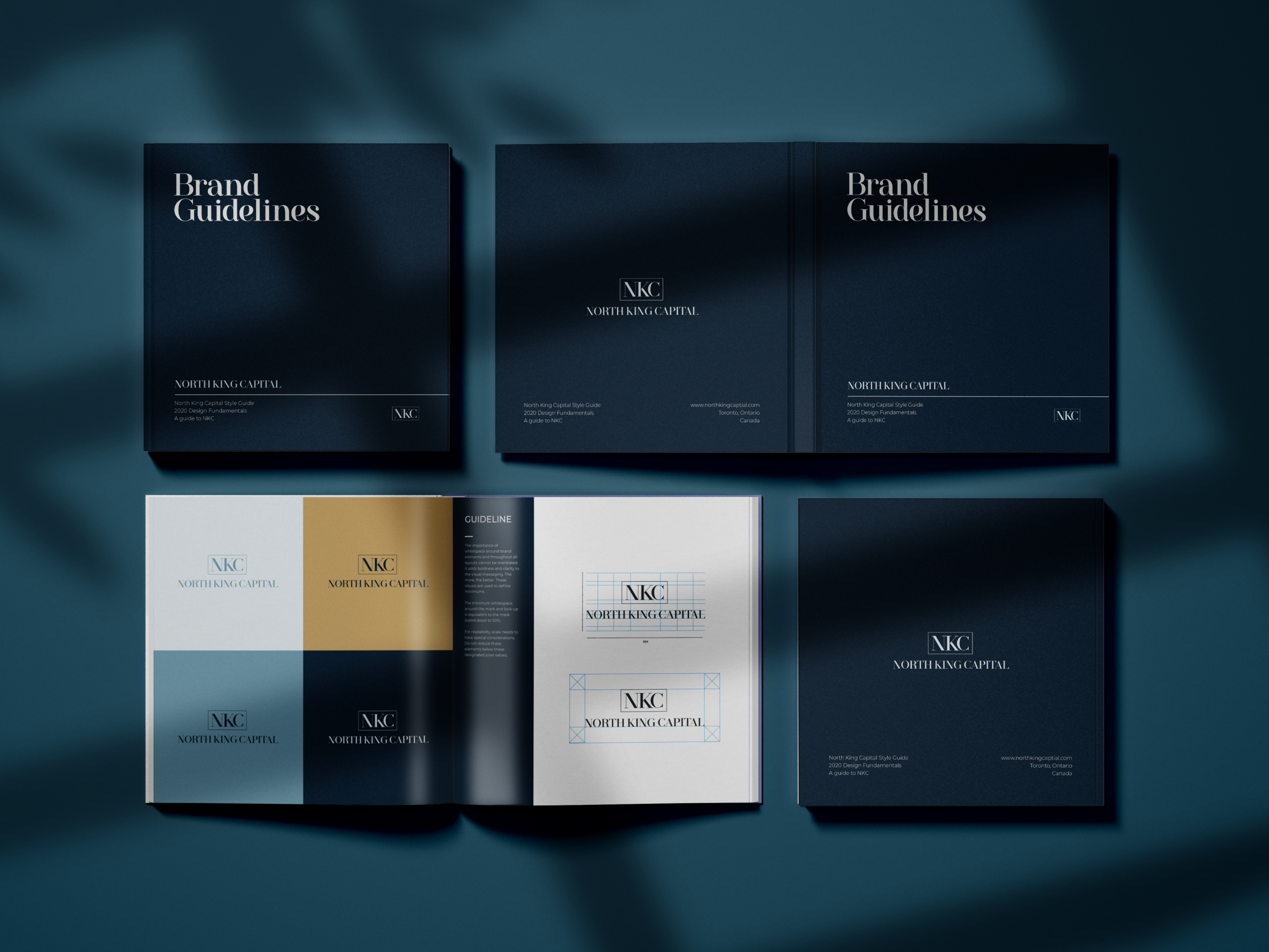 Ace Digital Designed Brand Guidelines for North King Capital